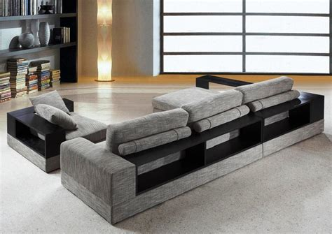 modern sectional sofas for small spaces ideas home