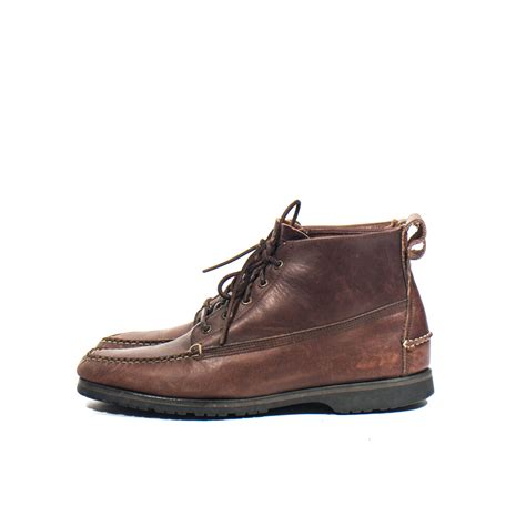 ll bean mens shoes and boots s l l bean hiker boots lace up ankle boots moc toe