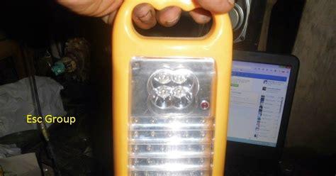 memperbaiki lampu emergency redup  cepat habis