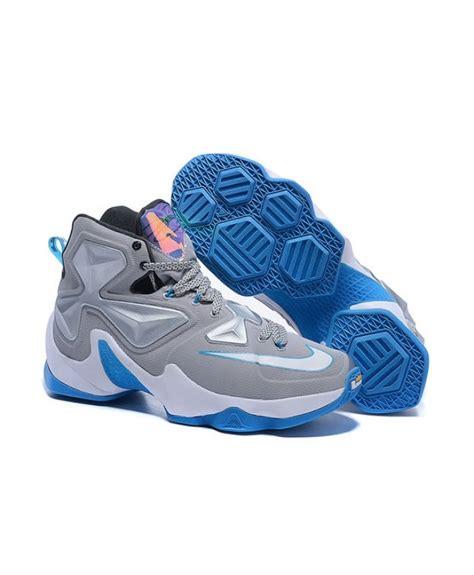 powder blue basketball shoes 2016 nike lebron 13 xiii quot grey powder blue quot s