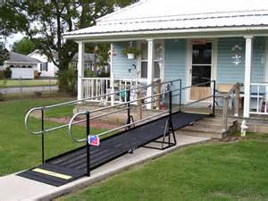 Handicapped House Plans by Wheelchair Ramps Oklahoma Amramp