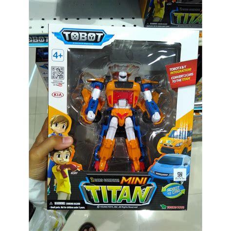 Mainan Anak Tobot mainan tobot mini titan original toys shopee indonesia
