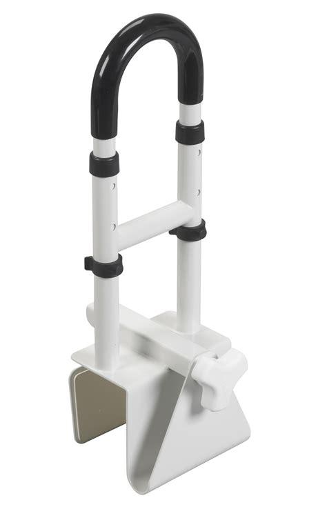 bathtub grab rail adjustable height bathtub grab bar safety rail at