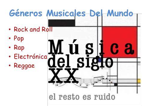 imagenes de estilos musicales g 233 neros musicales