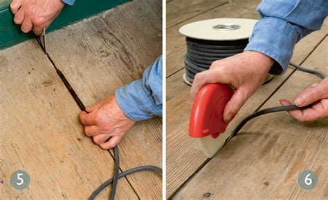 Floor Board Gap Filler by How To Fix Draughty Floorboards Period Living