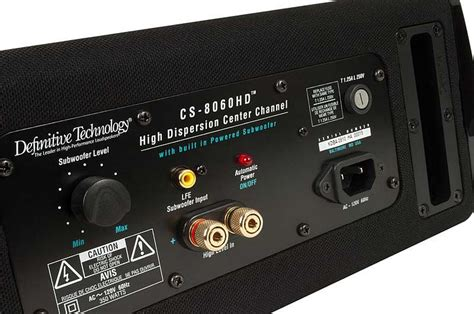 amazoncom definitive technology cs hd powered