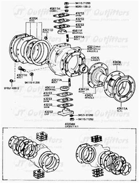 toyota solid 8 quot axles great lakes 4x4 the largest