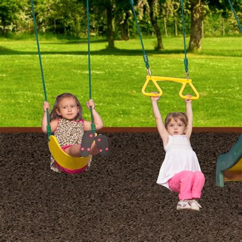 Backyard Discovery Prestige Wood Swing Set by Backyard Discovery Prestige Wooden Swing Set Academy