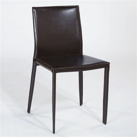 Modern Leather Dining Chair Modern Leather Dining Chairs Home Furniture Design