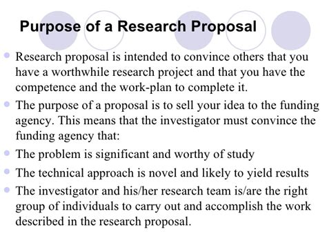 sample of significance of study in research paper the research proposal