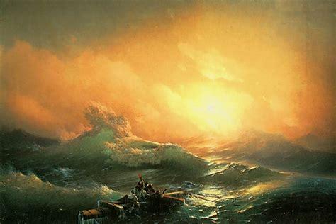 by the ninth wave ivan aivazovsky и к айвазовский девятый вал 1850г