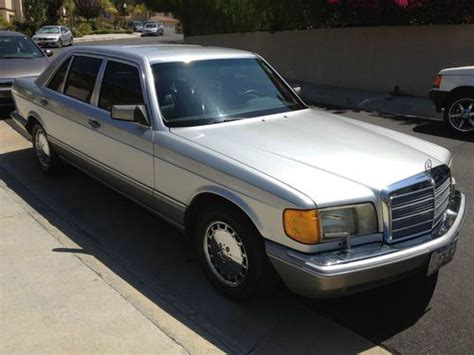 auto air conditioning service 1991 mercedes benz s class lane departure warning sell used 1991 mercedes benz 560sel 560 sel clean title exlnt cond no reserve in