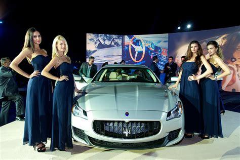 Maserati Starting Price by New Maserati Quattroporte Hits Uae Roads Starting Price