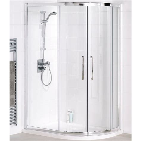 Shower Enclosures Complete by Lakes Offset Quadrand Complete Shower Enclosure