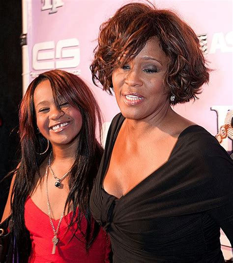 whitney houston and her daughter bobby brown demands justice for daughter bobbi kristina
