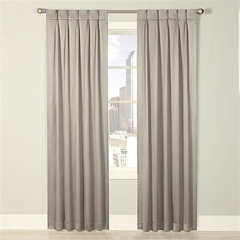 pinch pleat lined drapes buy splendor 84 inch grommet glide pinch pleat lined