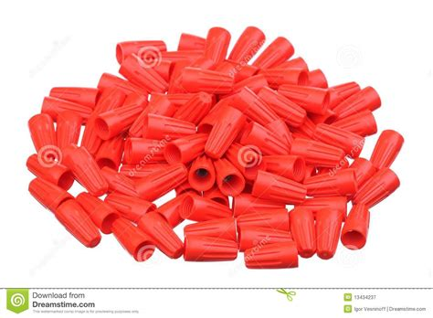 white wire nuts wire nuts royalty free stock photography image 13434237