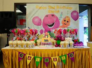 barney themed decorations firefly inspired when creativity meet