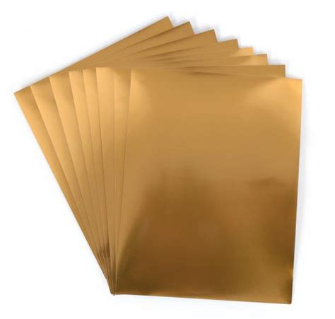 printable foil sticker paper silhouette america sticker paper gold foil media gld