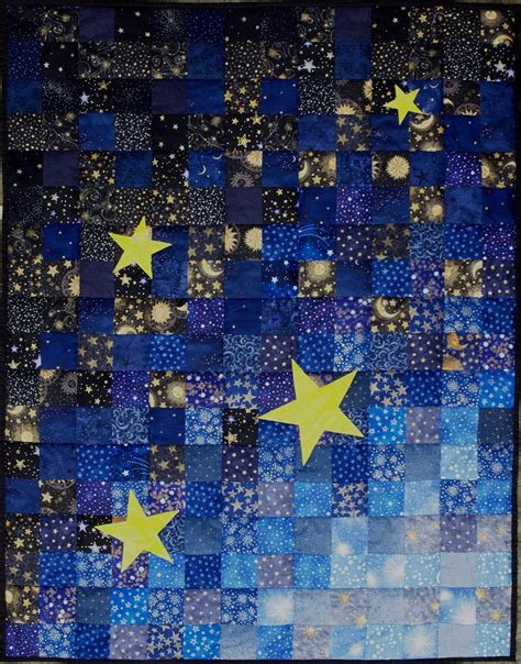 Starry Quilt Pattern by Saguita Quilts 2012 At Saguita Quilts