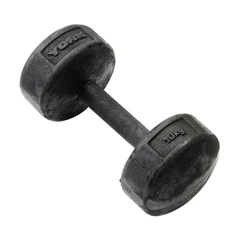 Dumbell 10kg york 10kg legacy dumbbell