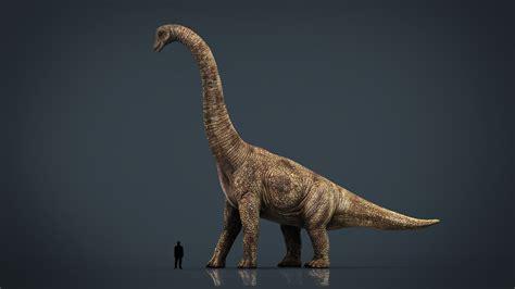 realistic brachiosaurus turbosquid