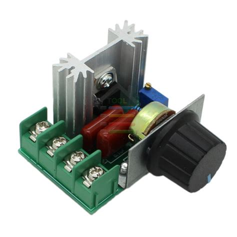 220v 2000w speed controller scr voltage regulator motor