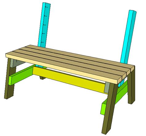 park bench blueprints pdf 2x4 park bench plans plans free