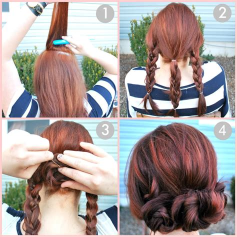 updos for long hair i can do my self how you can make a stylish updo with your long hair check