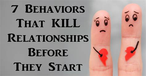 Things That Could Be Killing Your Relationship by What Could Kill Your Relationship Before It Starts