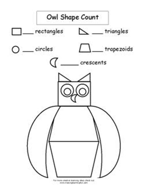owl printables for kindergarten math ideas for owl theme owl s