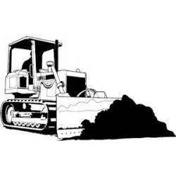 bulldozer silhouette bulldozer 11 clipart cliparts of bulldozer 11 free