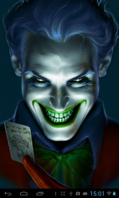 wallpaper hd android joker joker live wallpaper free apk android app android freeware