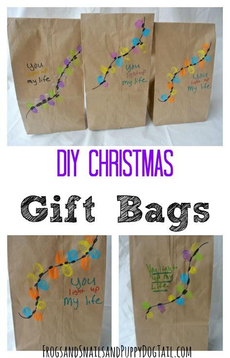 diy christmas gift bags fspdt