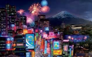 tokyo city at twilight 4190147 1920x1080 all for desktop