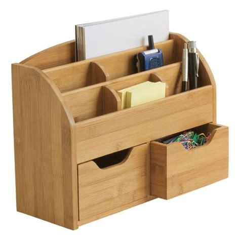 Wooden Desktop Organizer photo desk organizer