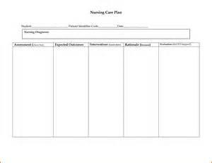 care plan template 15 nursing care plan template plantemplate info