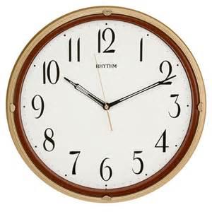 Silent Wall Clocks by Traditional Rhythm Wall Clock Silent No Ticking Plastic