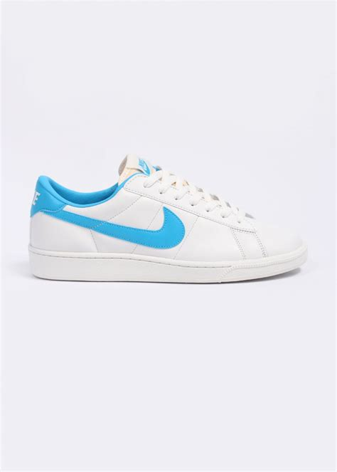 nike tennis classic rm trainers summit white vivid blue