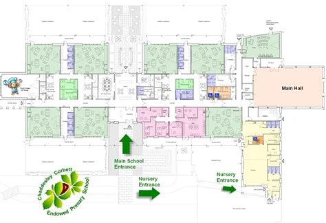 school floor plan pdf floor plan chaddesley corbett endowed primary school