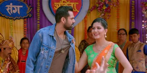 sapna choudhary film song tere thumke song from nanu ki jaanu sapna choudhary turns