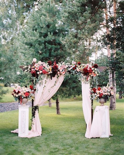 draped wedding arch wedding arch with fabric draping