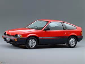 Of Images Images Of Honda Ballade Sports Cr X 1983 87 1600x1200