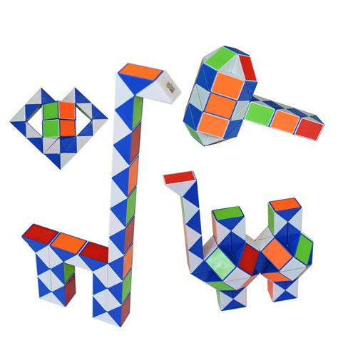 Rubik Snake Snack Ular Magic Promo magic cube ruler twist snake puzzle spinner puzzle cube magique anti stress mini neokub neo