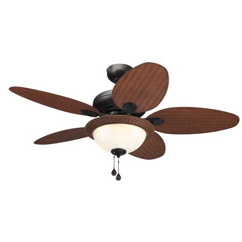 harbor ceiling fan with light shop harbor tilghman 44 in aged bronze downrod or