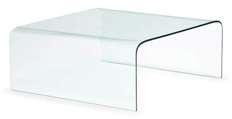 Coffee Table Tempered Glass Tempered Glass Coffee Table Clear Glass Zuri Furniture