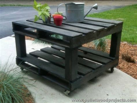 Pallet Table Ideas by Recycled Pallet Table Ideas Pallet Wood Projects