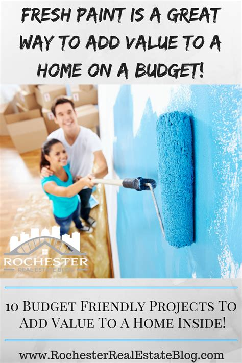 top 10 projects to add value to a home on a budget