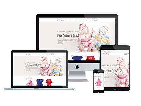 wordpress theme responsive layout free lt baby shop free responsive kids baby store wordpress