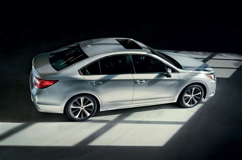 subaru legacy 2015 white 2015 subaru legacy looks better on chicago show floor than